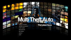 Multi Theft Auto: San Andreas 1.1.x Main Menu